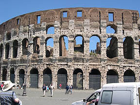 Rome's Colosseum - click to see our travels